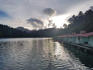 khao sok thailande lever de soleil