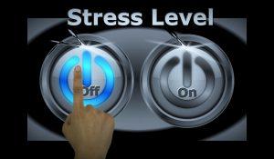 bouton stress ON OFF