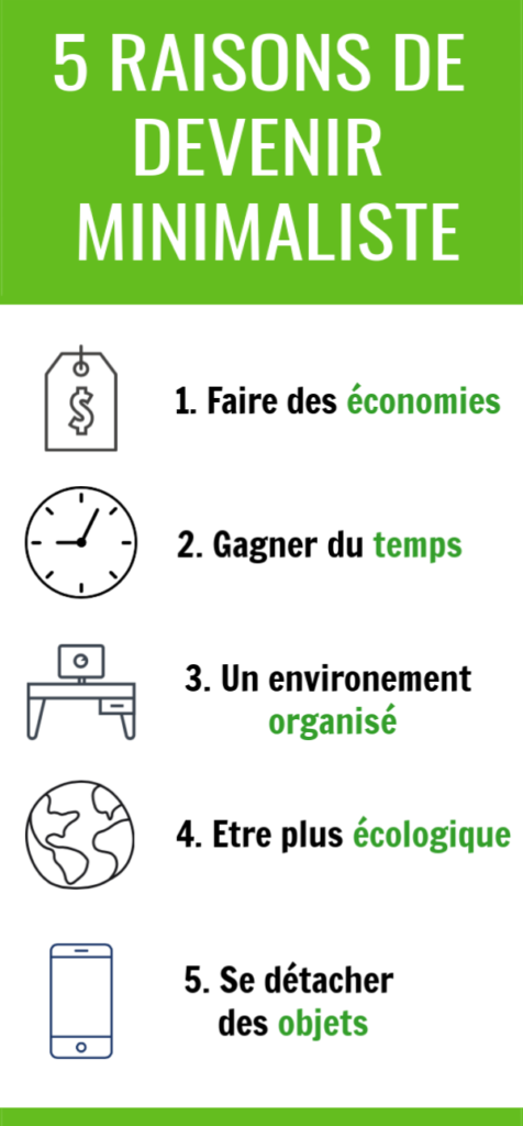 5 raisons de devenir minimaliste