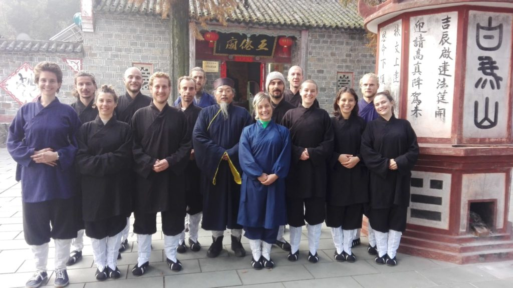Five immortal temple Tai chi