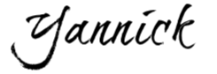 yannick signature