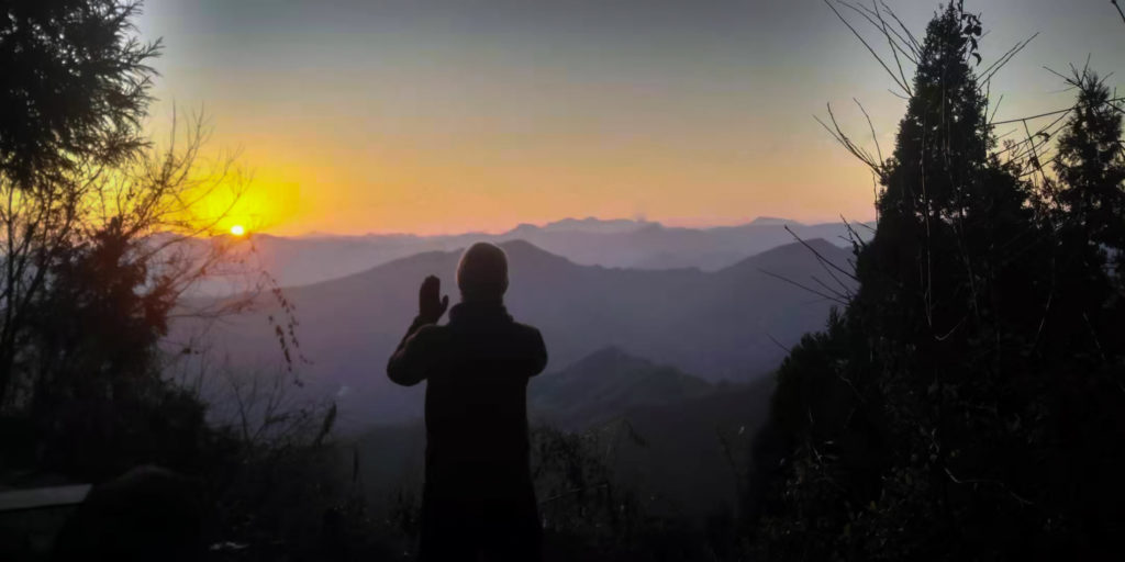qi gong lever soleil